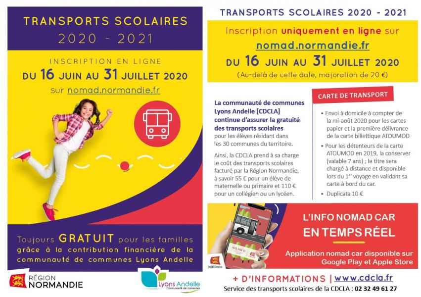 Flyer transports scolaires 2020 mail vf